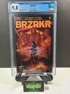 BRZRKR (BERZERKER) #1 VANCE KELLY RED CHASE VARIANT KEANU REEVES CGC 9.8