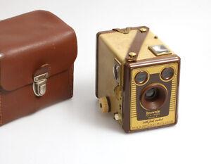 Eastman Kodak Limited England (London) Brownie SIX-20 Model F hellbraun