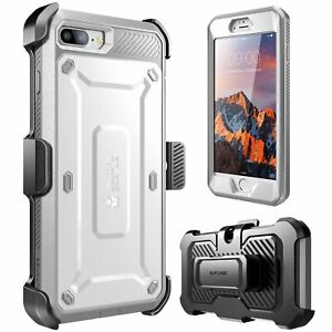 SUPCASE For iPhone 7Plus 8Plus, Multi-Layer Full-Body Case Holster Cover +Screen