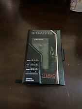 Vintage Sanyo Mgr67 Am/Fm Cassette Player Graphic Equalizer tested & works!