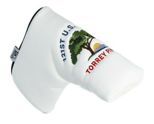 2021 US OPEN (Torrey Pines) WHITE PRG Blade PUTTER COVER