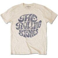 The Rolling Stones Vintage 70's Logo Ufficiale Merce T-Shirt M/L/XL - Nuovi