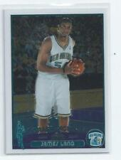 James Lang 2003-04 Topps Chrome Rookie Card #159