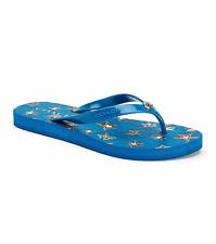 NEW COACH ABBIGAIL BLUE STAR FLIP FLOP FLOPS SANDALS SANDAL Size 8 MSRP $59
