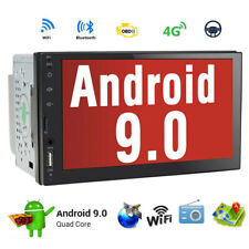 Android 9.0 Double 2Din 7in HD Car GPS Navi Auto Radio Stereo MP5 Player DAB+
