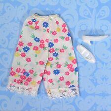 Vintage Francie Barbie 1252 First Things First Flower Petti Pants + Cutout Heels