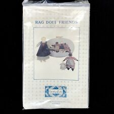 Vintage RAG DOLL FRIENDS Embroidery Instruction Kit Country Quilts Cedarburg WI