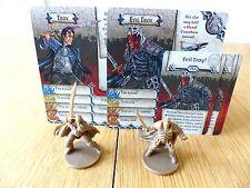 Zombicide: Negro plaga-troy & Evil Troy Kickstarter supervivientes Exclusivo