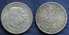 MONETA COIN AUSTRIA ÖSTERREICH 2 CORONA 1912 FRANZ JOSEPH ARGENTO SILVER SILBER#