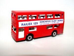 Matchbox Superfast No 17 The Londoner Railex 125 Doncaster RARE CODE 3 Unboxed