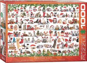 Eurographics 1000 Piece Jigsaw Puzzle - Christmas Cats