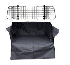 Boot Liner Mat Bumper Protector + Dog Barrier Guard Renault