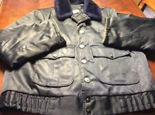 Capitol Uniforms Vintage Bomber Jacket Size 42R Ornate Mens