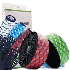 2pc Road Bike MTB Anti-slip Handle Bar Grips Tapes Handlebar Tape Wrap Belts|