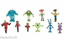 New Disney Parks Monorail Playset Characters Toy Story Incredibles Figure Set