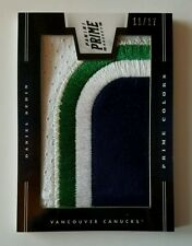 Daniel Sedin Prime Colors Horizontal SICK PATCH Canucks #d /17 MAKE US AN OFFER