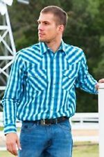 Wrangler Long Sleeve Western Casual Shirts for Men