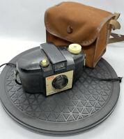 Vintage Kodak Brownie 127 Camera 1952- 1955 1st Type with Case.GREAT CONDITION
