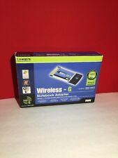 LINKSYS 2.4 GHz Wireless - G Notebook Adapter MODEL WPC54G