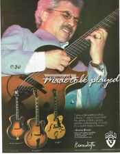 2003 GUILD Benedetto Archtop Electric Guitar JIMMY BRUNO Vtg Print Ad