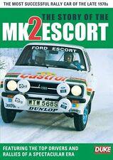 The Story of The Ford Escort MK2 (New DVD) Rallying 1970s Roger Clark Vatanen