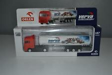 New PKN Orlen Polish Oil Company MAN Tank Truck Lorry Scale 1:87 Diecast Poland