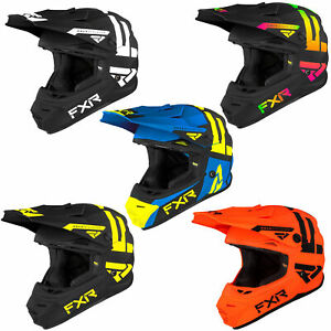 FXR Youth Legion Helmet DOT ECE Certified Quick-Release Lightweight Protection