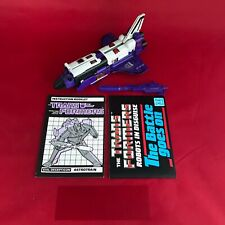 Transformers G1 Vintage Triplechanger Astrotrain - Complete -With Instructions 2