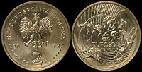 Pologne. 2 Zloty. 2012 (Pièce KM#Y.823 Neuf) Championnats D'Europe De Football