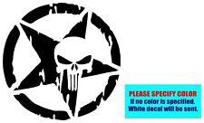 "Army Military Star Punisher #911 Vinyl decal sticker Graphic Die Cut Car 9"""