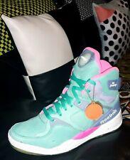 New Reebok The Pump Certified x Mita Sneakers Teal/Pink/Purple Rare Retro sz 8.5