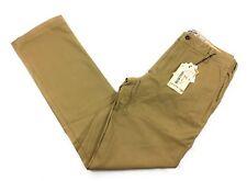 Burton Men's Sawyer Pant Slim Straight Fit Size 33 Kelp Khaki Pants