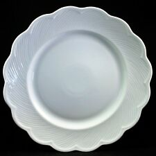 """Dansk White Fransk Blanc Collection Large Round Chop Plate Serving Plate 12.5"""""""