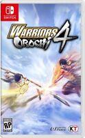 Warriors Orochi 4 for Nintendo Switch [New Switch]