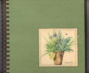 Hallmark Marjolein Bastin Photo Album Natures Sketchbook 9x9 Herbs