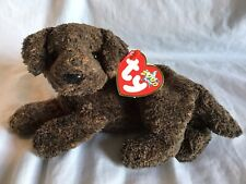 TY BEANIE BABY 2000 Fletcher Chocolate Brown Lab Labrador Retired *MWMT*