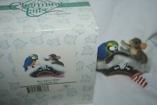 Charming Tails, Fitz and Floyd, figurine Hey There Mate, Mib
