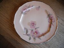 Vintage TST Co. Pink Floral Round Plate