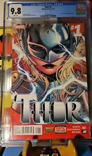 Thor #1 CGC 9.8 ⚡ 1st Print ⚡ Foster becomes Thor ⚡ Love and Thunder