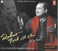 RAHAT FAETEH ALI KHAN AT HIS BEST - BRAND NEW MIX SONGS CD - FREE UK POST