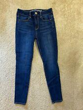 AE American Eagle Hi Rise Jegging Super Stretch Denim women jeans size 2 Short