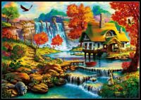 Country House - Chart Counted Cross Stitch Pattern Needlework Xstitch DIY DMC