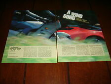 1986 PORSCHE 911 CARRERA CABRIOLET vs. KAWASAKI CONCOURS ***ORIGINAL ARTICLE***