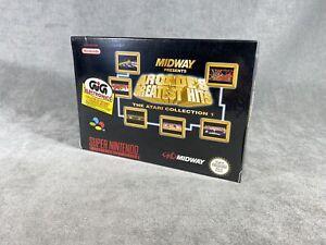 Juego SNES - ATARI MIDWAY - Nuevo de Fabrica - Precintado - PAL - Super Nintendo