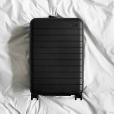 New in Box Away Travel Luggage The Bigger Carry-On w/ Battery in Black