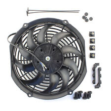 "ACP 12"" Universal Push Radiator Cooling Fan Curved Blades Replacement Unit"