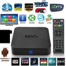 MXQ PRO TV BOX ANDROID QUAD CORE 4K HD SMART TV WIFI HDMI USB 1GB/8GB FULL HD