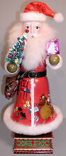 "MARKED DOWN - EXQUISITE 14"" WOOD HAND-PAINTED NUTCRACKER-MUSICAL - RETIRED"