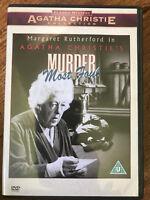 Asesinato más Foul DVD 1964 Agatha Christe Mystery con / Margaret Rutherford