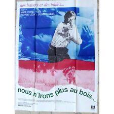 AFFICHE FILM Nous n'irons plus au bois Georges Dumoulin Pisier Leduc et HIGELIN